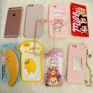 iPhone 6s Plus 128 GB bundle cases Hello kitty